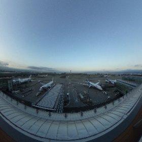 #羽田空港国際線ターミナル #theta360