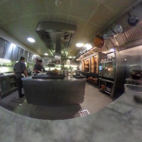 La cocina del restaurante Pujol de Enrique Olvera #theta360