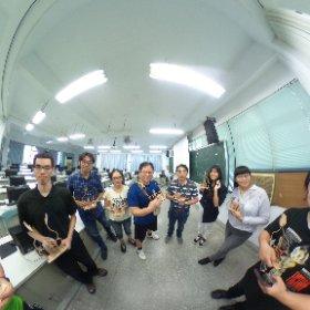 2019.10.07 國立華僑高中 雷射切割 自動機構 拍拍手 & 123D Design 雷射切割應用設計