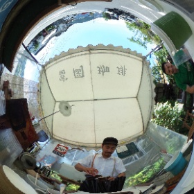 富岡コーヒーさん。 いや、仕事中ですよー♪ #theta360