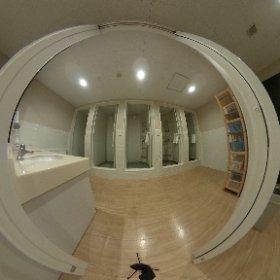 Myecolodge shower room #theta360