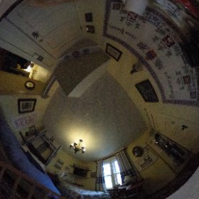 Family Suite at the Gingerbread Cottage Bed and Breakfast in Victoria BC #theta360
