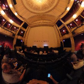 Getting set for #TedXGlasgow at the Theatre Royal #theta360