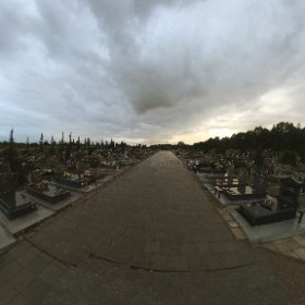 Suwałki, cmentarz ul. M. Reja #theta360