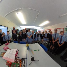 St Helens RC school visit #theta360 #theta360uk